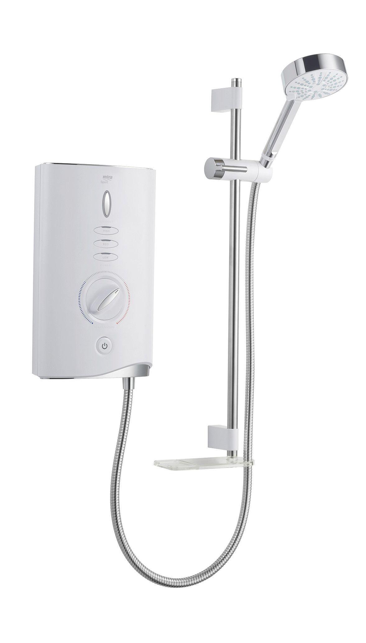 Mira Sport Max Airboost 9kw Electric Shower, White