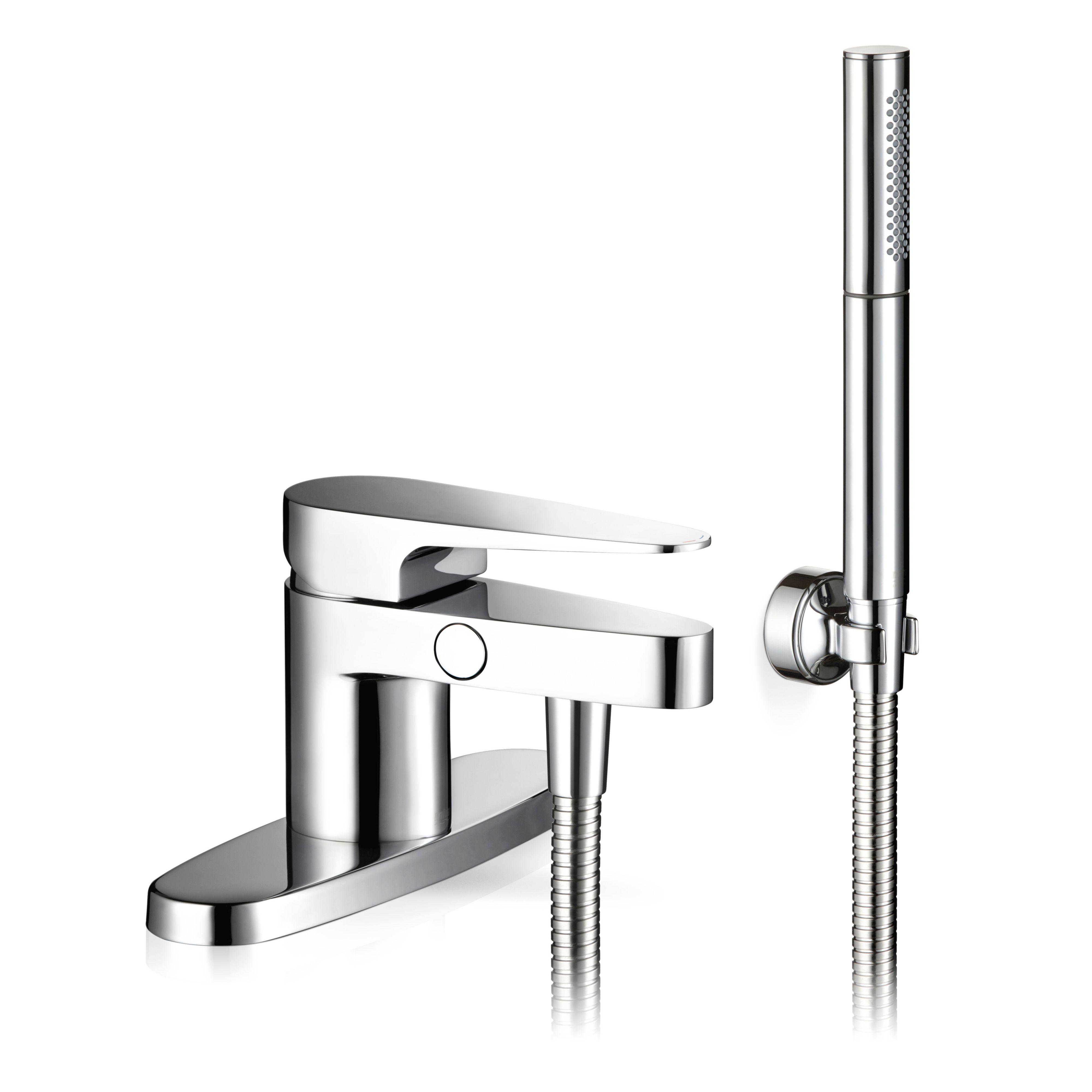 Mira Precision Chrome Bath Shower Mixer Tap