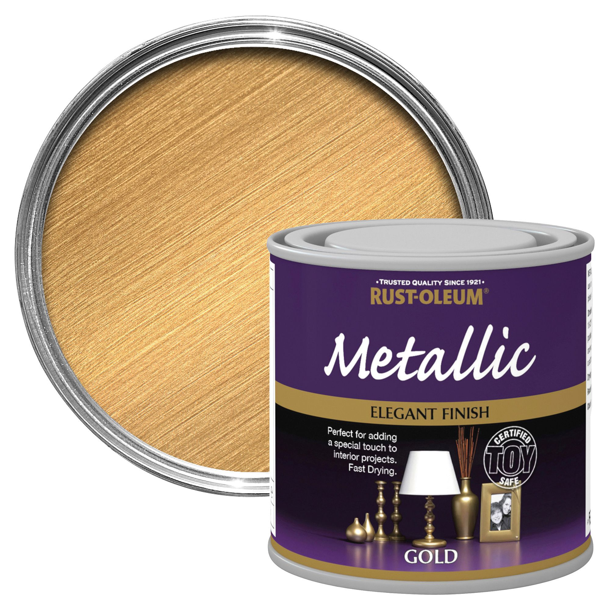 Rust-oleum Rust-oleum Gold Metallic Metallic Special Effect Paint 250 Ml
