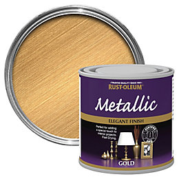 Rust-Oleum Gold Metallic Special Effect Paint 0.25L