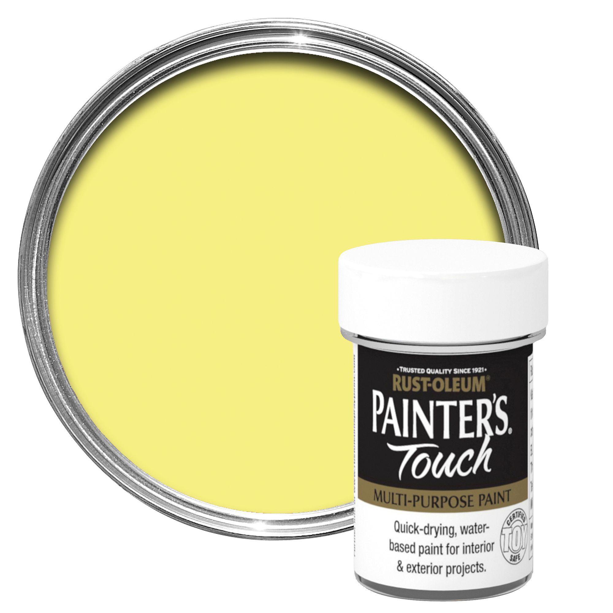Rust oleum painter 39 s touch interior exterior lemon gloss multipurpose paint 20ml departments - Matt exterior paint image ...