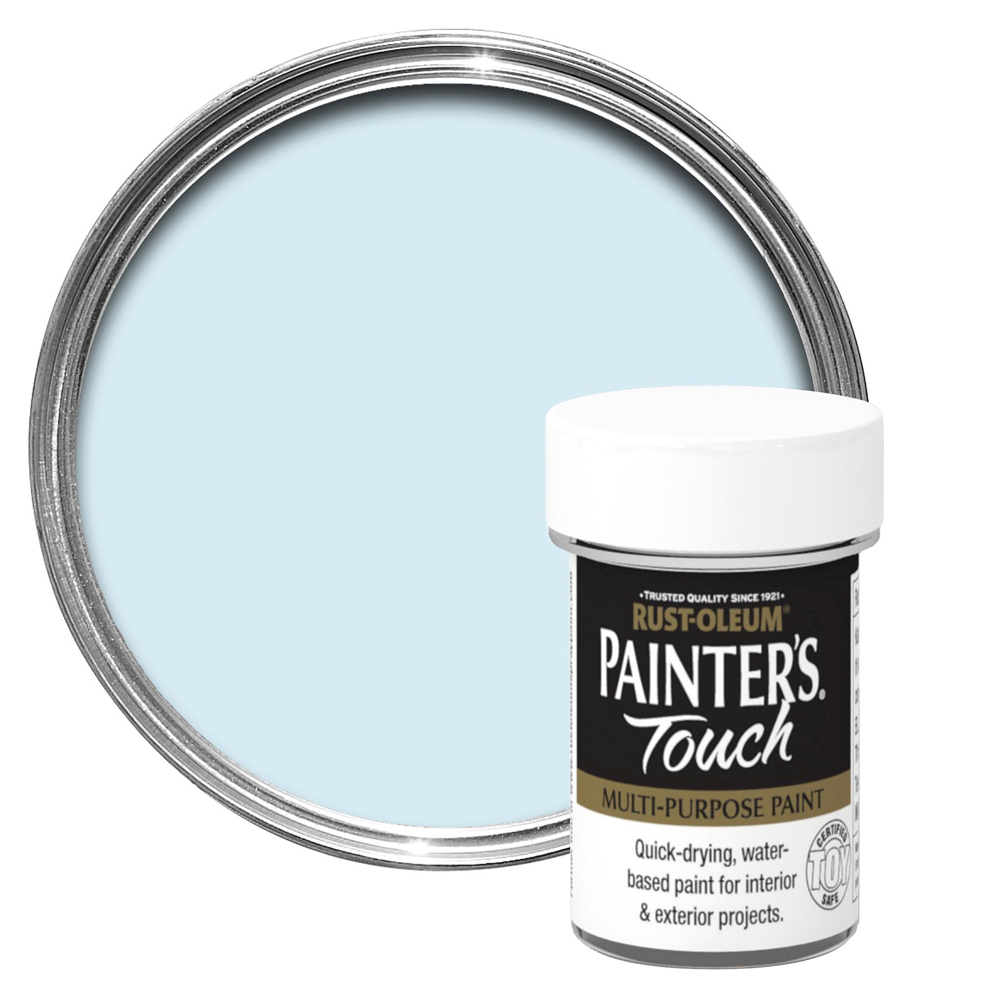 Rust-oleum Painter's Touch Interior & Exterior Duck Egg Blue Gloss Multipurpose Paint 20ml