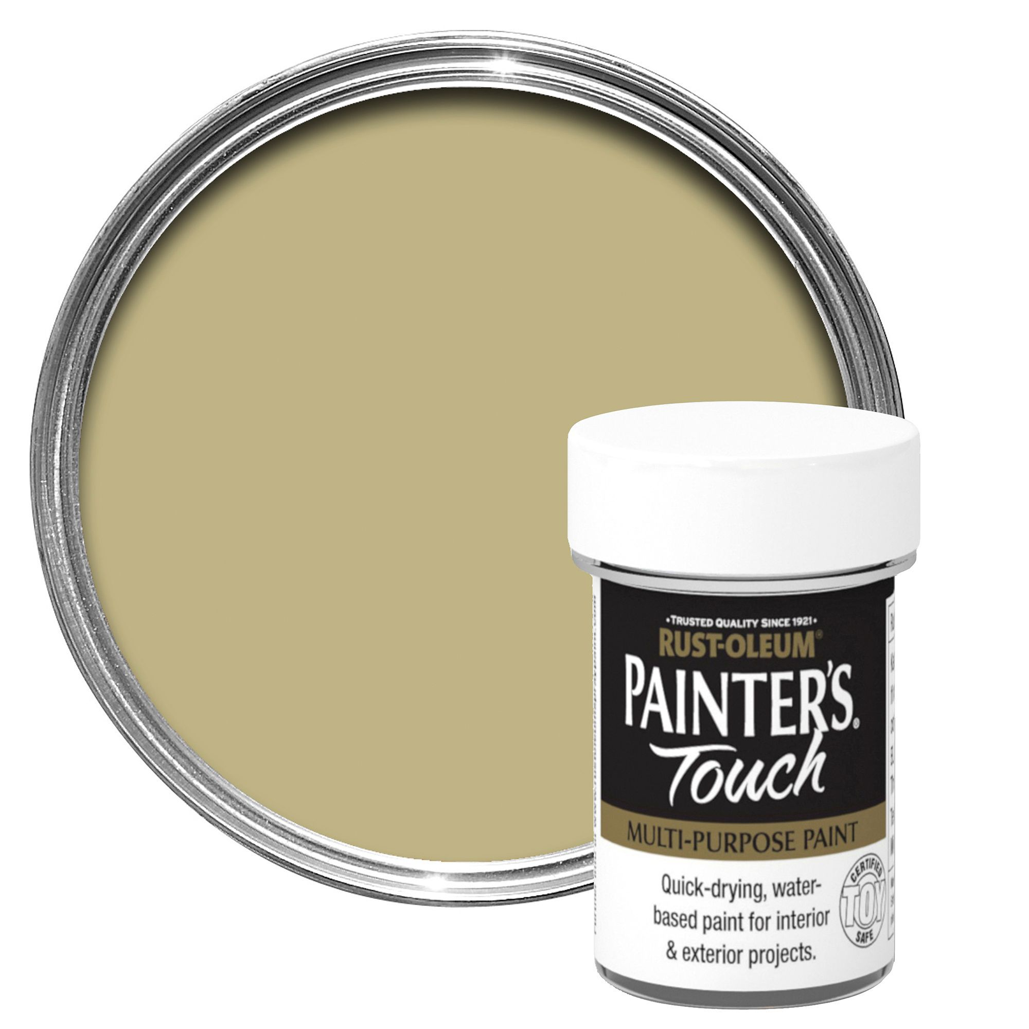 Rust Oleum Painter 39 S Touch Interior Exterior Gold Metallic Multipurpose Paint 20ml