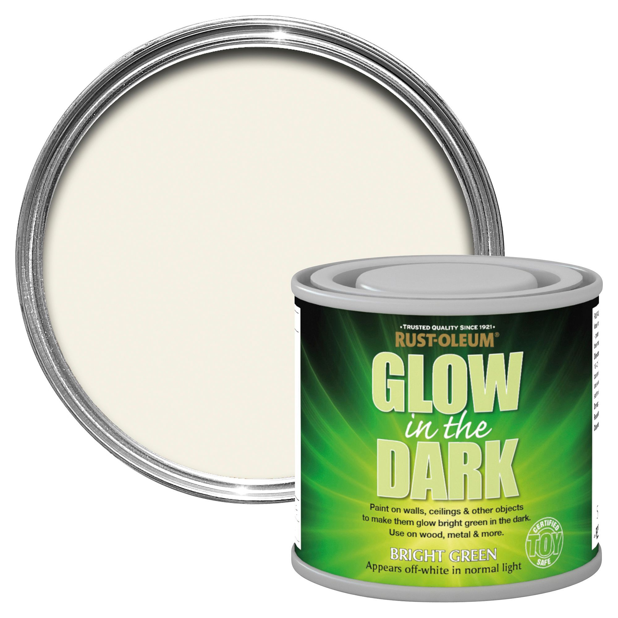 Rust-oleum Glow In The Dark Matt Paint 125 Ml