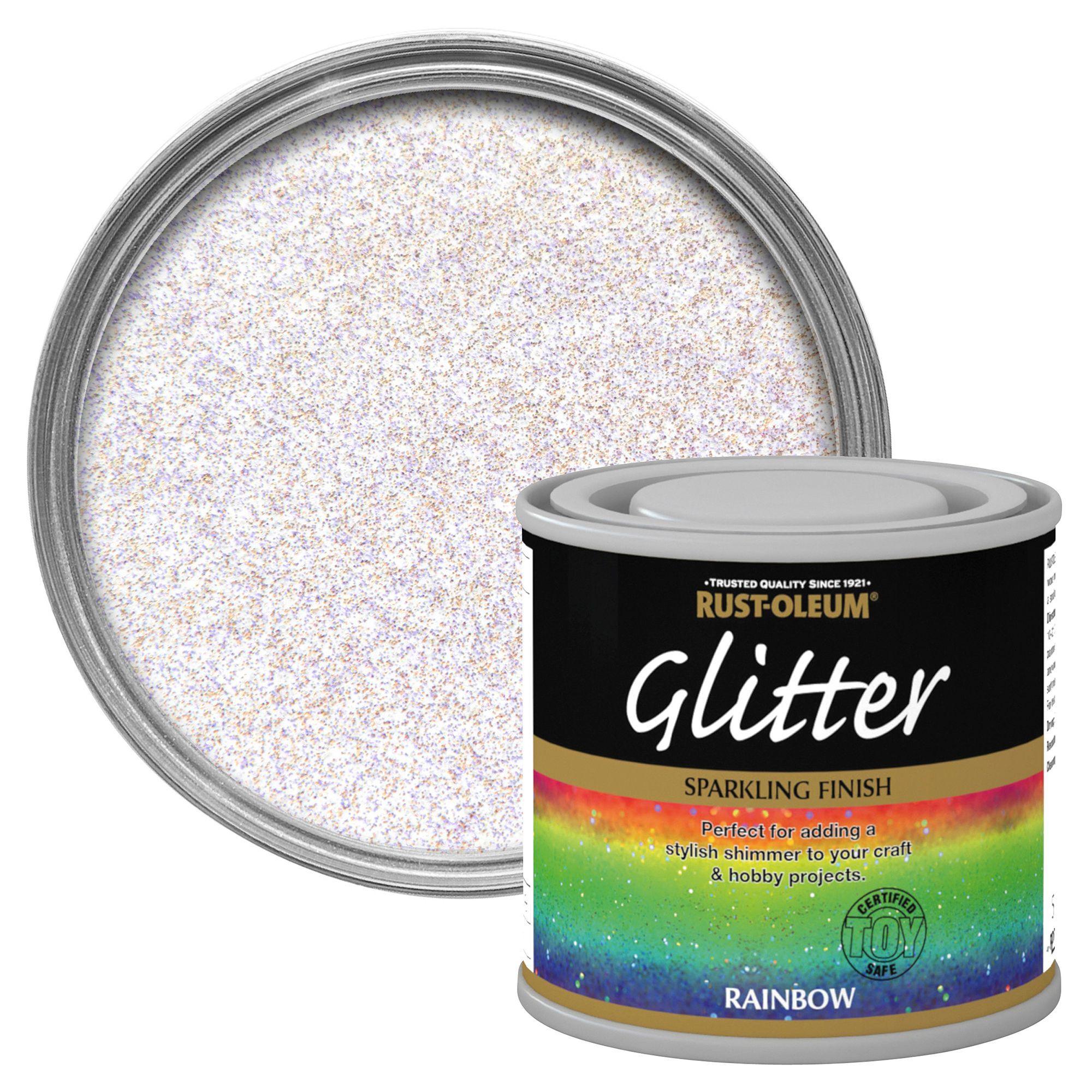 Rust-Oleum Rainbow Glitter Effect Special Effect Paint 125ml