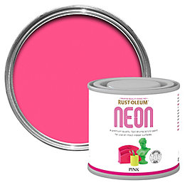 Rust-Oleum Pink Neon Paint 125ml