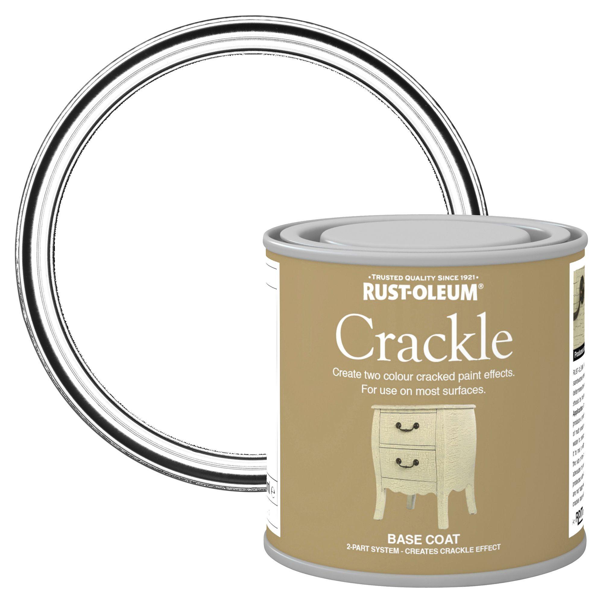 Rust-oleum Rust-oleum Clear Crackle Basecoat Paint 250 Ml