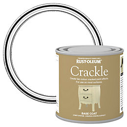 Rust-Oleum Clear Crackle Basecoat Paint 250ml