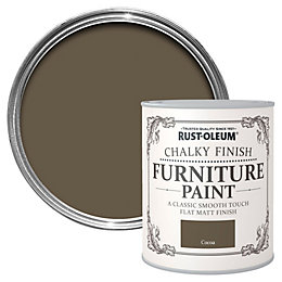 Rust-Oleum Cocoa Chalky Matt Furniture Paint 750ml