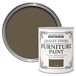 Rust-Oleum Cocoa Chalky Matt Furniture Paint 0.125L