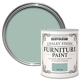 Rust-Oleum Duck Egg Chalky Matt Furniture Paint 0.125L