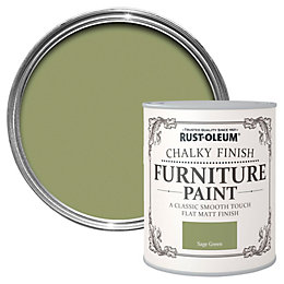 Rust-Oleum Sage Green Matt Furniture Paint 125ml