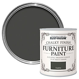Rust-Oleum Graphite Chalky Matt Furniture Paint 125ml