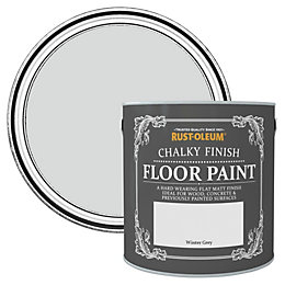 Rust-Oleum Winter Grey Flat Matt Floor Paint 2.5L