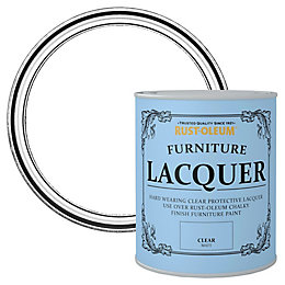 Rust-Oleum Clear Matt Furniture Lacquer 0.75L