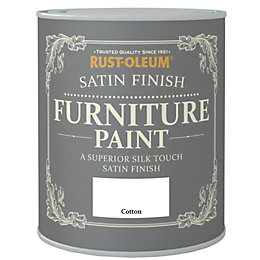 Rust-Oleum Cotton Satin Furniture Paint 750ml