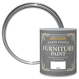 Rust-Oleum Cotton Satin Furniture Paint 750ml
