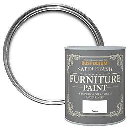 Rust-Oleum Cotton Satin Furniture Paint 125ml