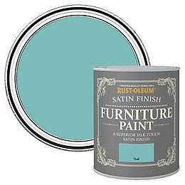 Rust-Oleum Teal Satin Furniture Paint 0.125L