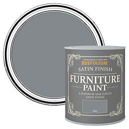 Rust-Oleum Slate Satin Furniture Paint 125ml