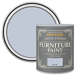 Rust-Oleum Blue Sky Satin Furniture Paint 125ml