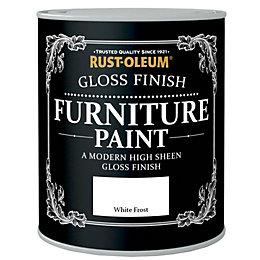 Rust Oleum Winter Grey Chalky Effect Matt Furniture Paint