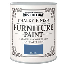Rust-Oleum Chalky Blue Silk Flat Matt Furniture Paint