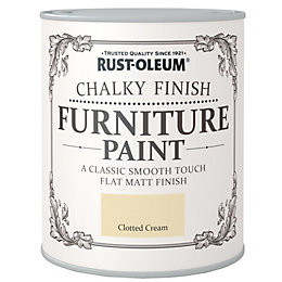 Rust-Oleum Chalky Finish Clotted Cream Flat Matt Furniture