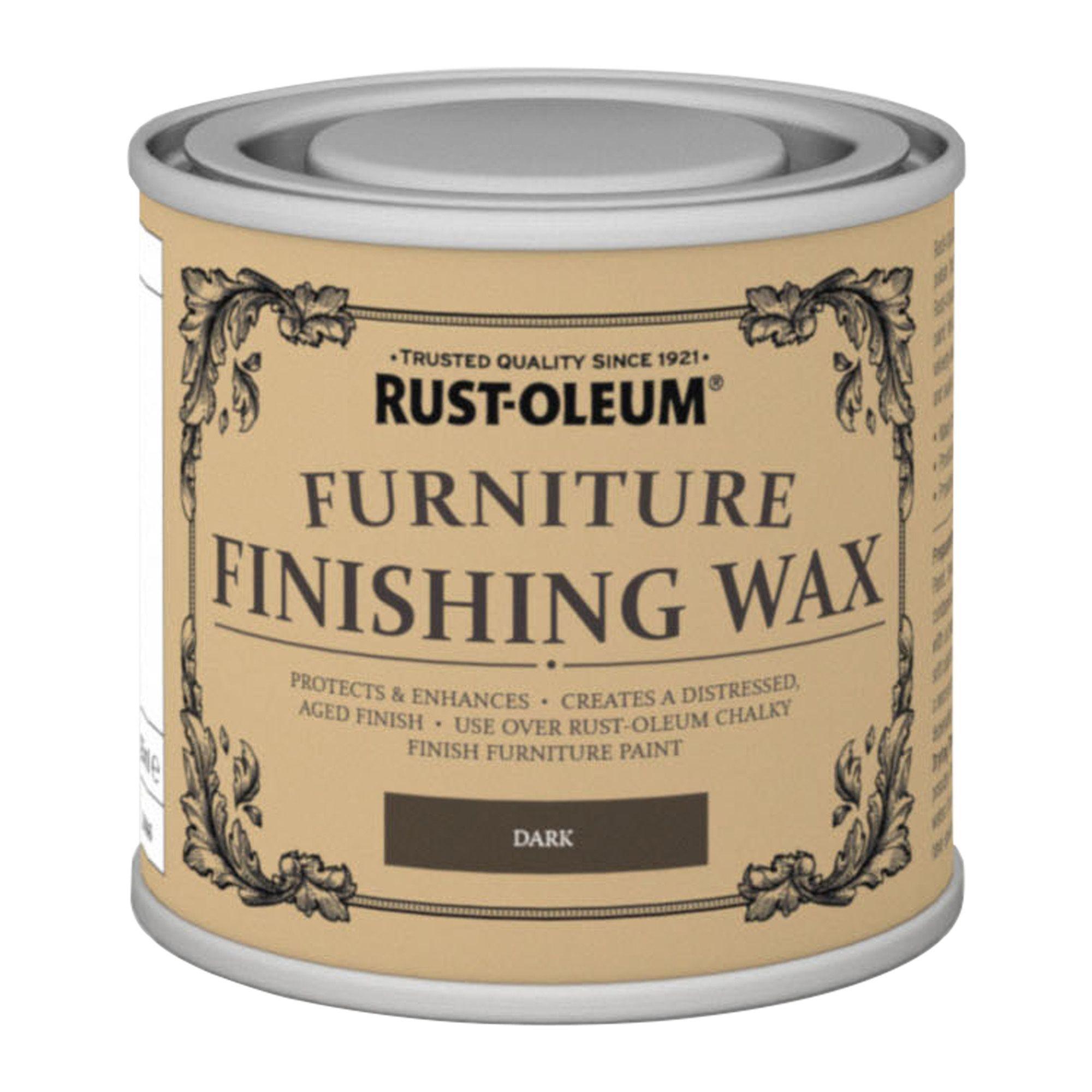 Rust Oleum Dark Furniture Finishing Wax 125ml Rooms