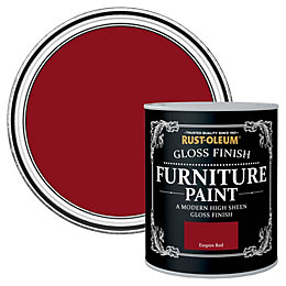 Rust-Oleum Empire Red Gloss Furniture Paint 0.75L