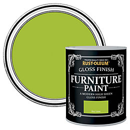 Rust-Oleum Key Lime Gloss Furniture Paint 0.75L