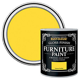 Rust-Oleum Lemon Sorbet Gloss Furniture Paint 125 ml