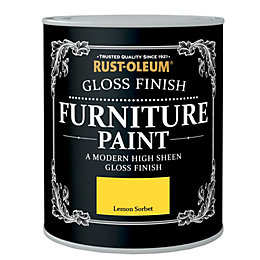 Rust-Oleum Lemon Sorbet Gloss Furniture Paint 750ml