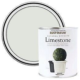 Rust-Oleum Limestone Matt Natural Effect Paint 0.25L