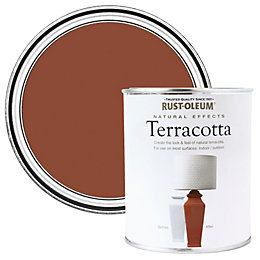Rust-Oleum Terracotta Matt Natural Effect Paint 0.25L