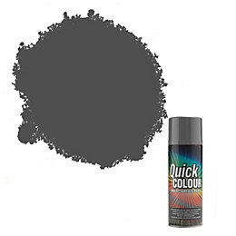 Rust-Oleum Quick Colour Grey Gloss Multi Surface Spray