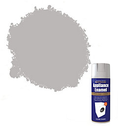 Rust-Oleum Grey Semi-Gloss Appliance Enamel Spray Paint 400
