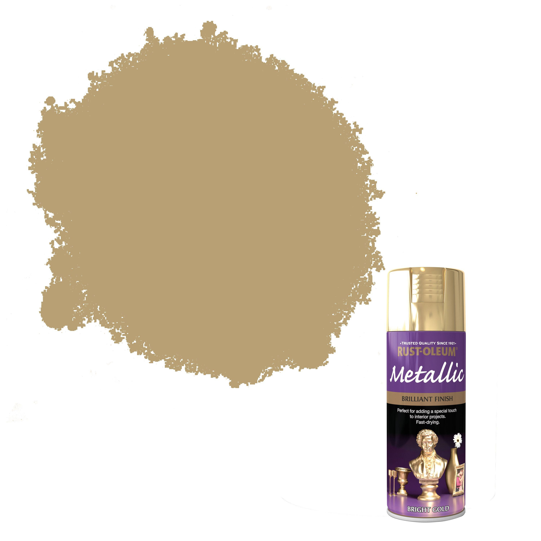 Rust-oleum Gold Metallic Spray Paint 400 Ml