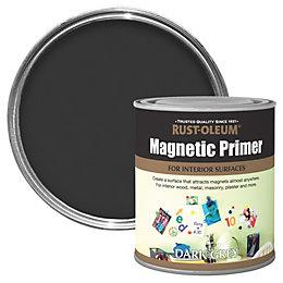 Rust-Oleum Dark Grey Matt Magnetic Primer 500ml