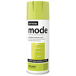 Rust-Oleum Mode Lime Green Gloss Premium Quality Spray