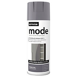 Rust-Oleum Mode Charcoal Gloss Premium Quality Spray Paint