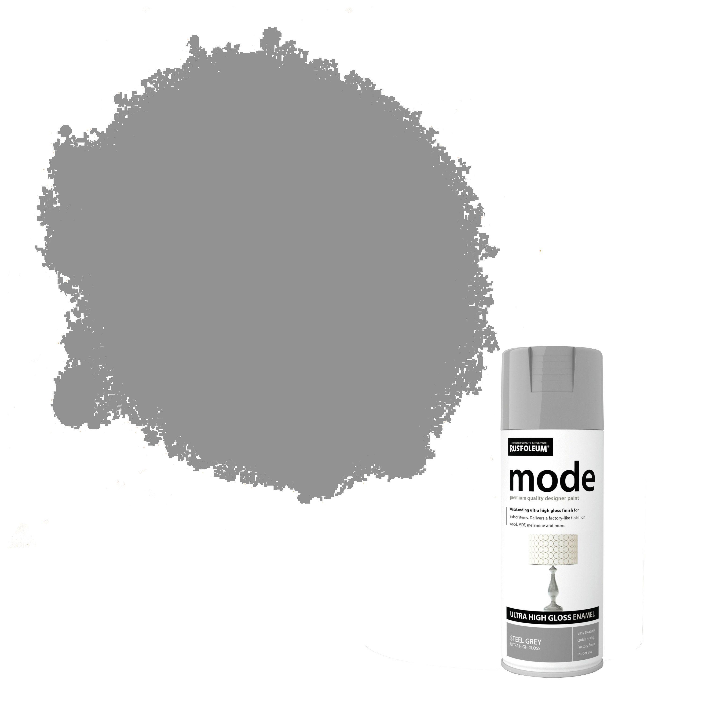 Rust Oleum Mode Steel Grey Gloss Gloss Premium Quality Spray Paint