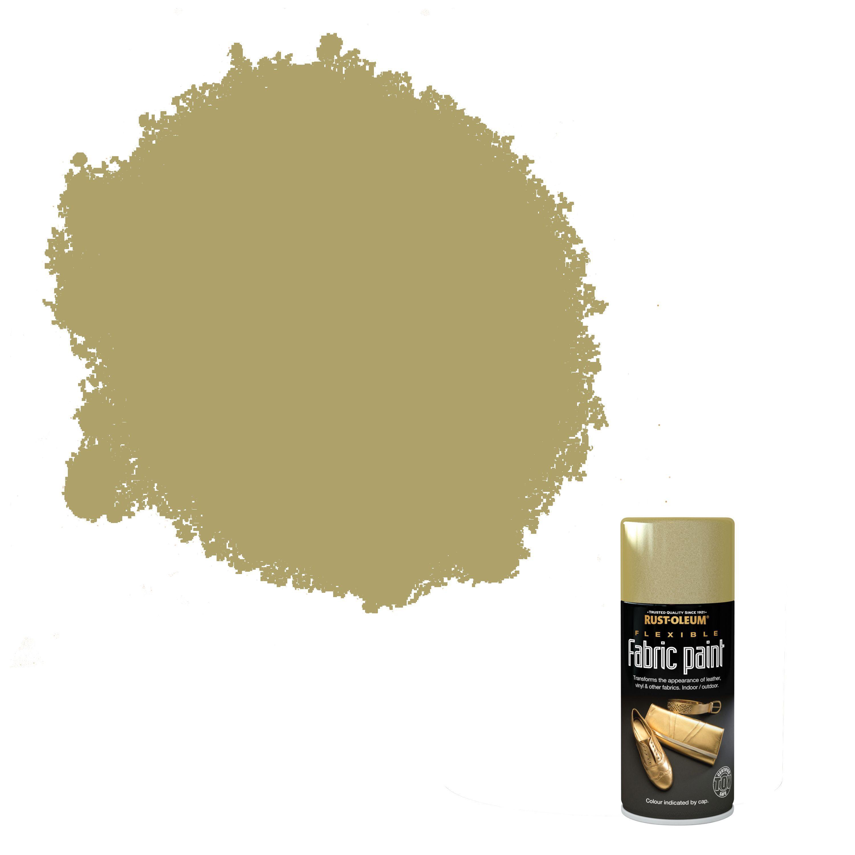 Rust-oleum Fabric Paint Gold Flexible Fabric Paint 150 Ml