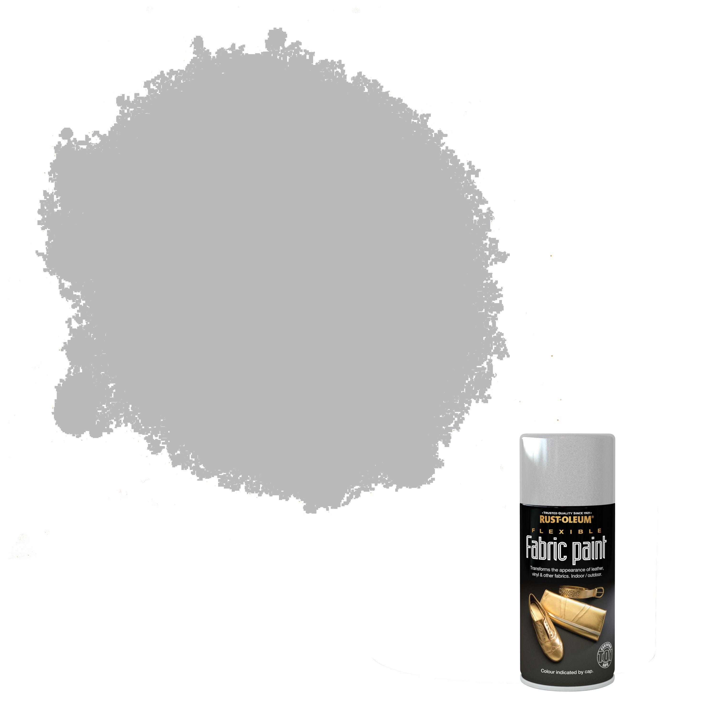 Rust-oleum Fabric Paint Silver Flexible Fabric Paint 150 Ml