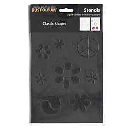 Rust-Oleum Classic Stencil Pack of 2