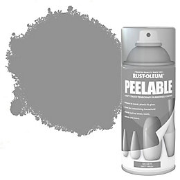 Rust-Oleum Silver Matt Peelable Spray Paint 150ml