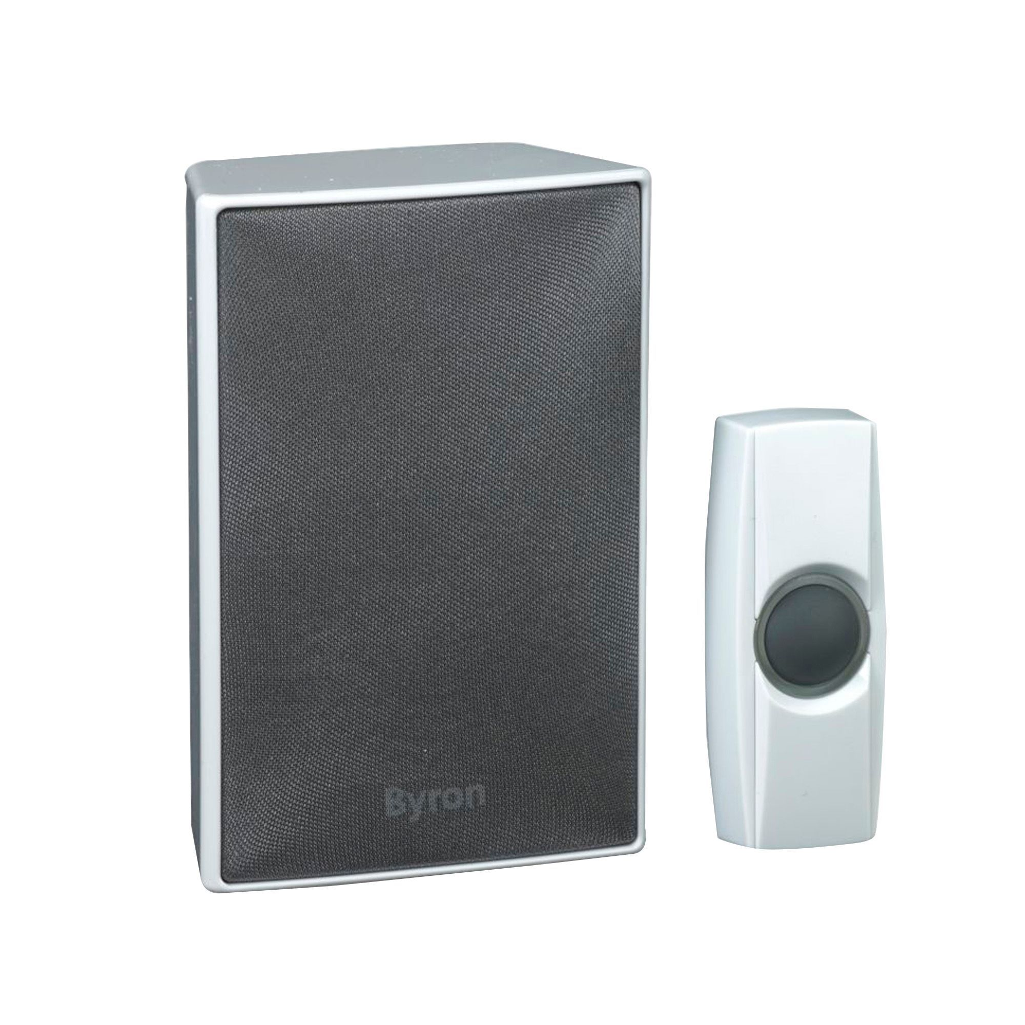 sc 1 st  Bu0026Q & Byron Wirefree White Portable Door Chime | Departments | DIY at Bu0026Q pezcame.com