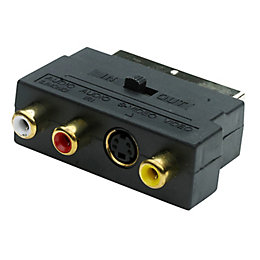 Smartwares 3 Phono to Scart Lead