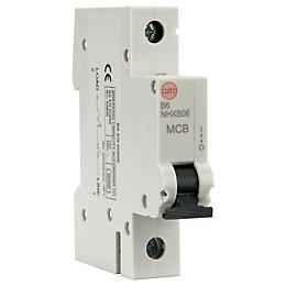 Wylex 6A Miniature Circuit Breaker (MCB)