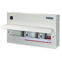 Wylex 100A 15-Way Metal High Integrity Dual RCD